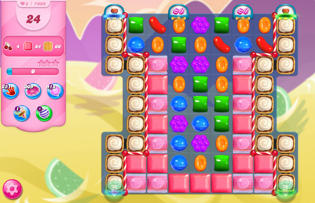 Candy Crush Saga level 7999