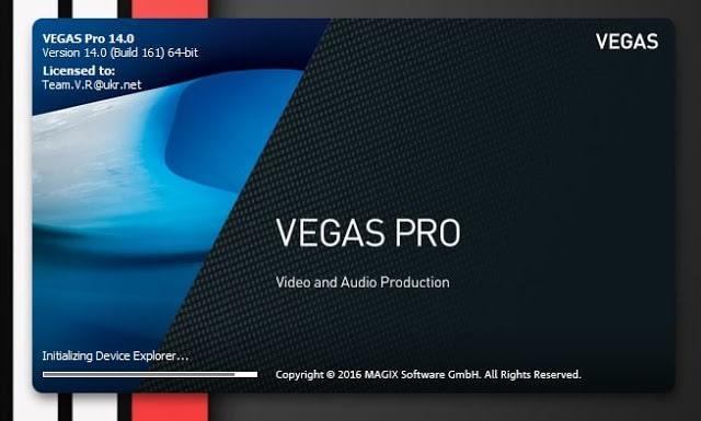 Tải Sony Vegas Pro 14 Full Crack