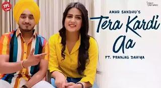 TERA KARDI AA Lyrics - Amar Sandhu