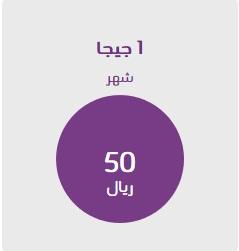 شرح الإشتراك في باقة إنترنت 50 ريال 1.2جيجا من stc الإتصالات السعودية 2019