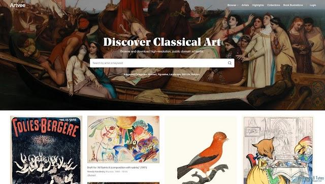 Artvee : une banque d'images d'œuvres d'art exceptionnelle