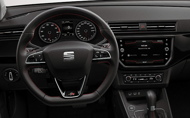 Novo VW Polo 2018 - interior (Seat Ibiza)