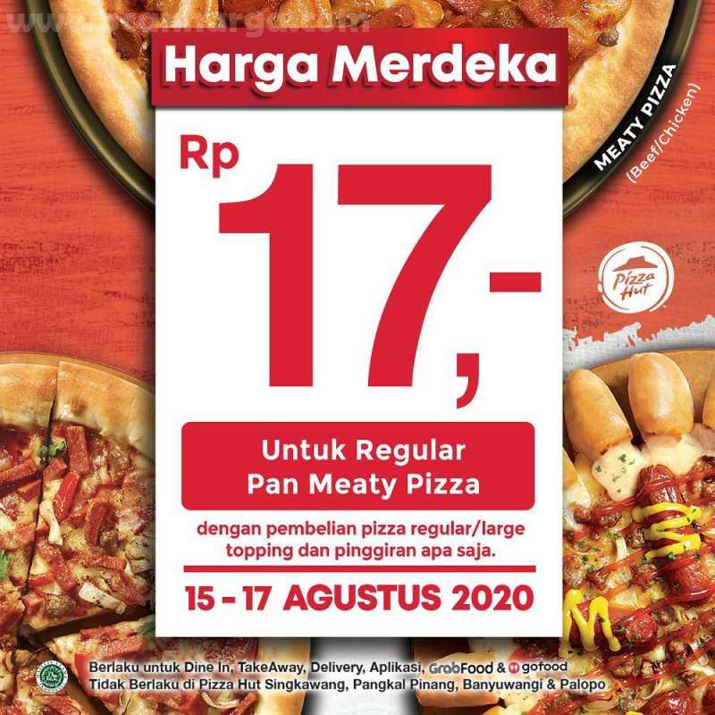 Promo Pizza Hut Harga Merdeka
