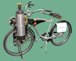 Steam engine Powered bicycle