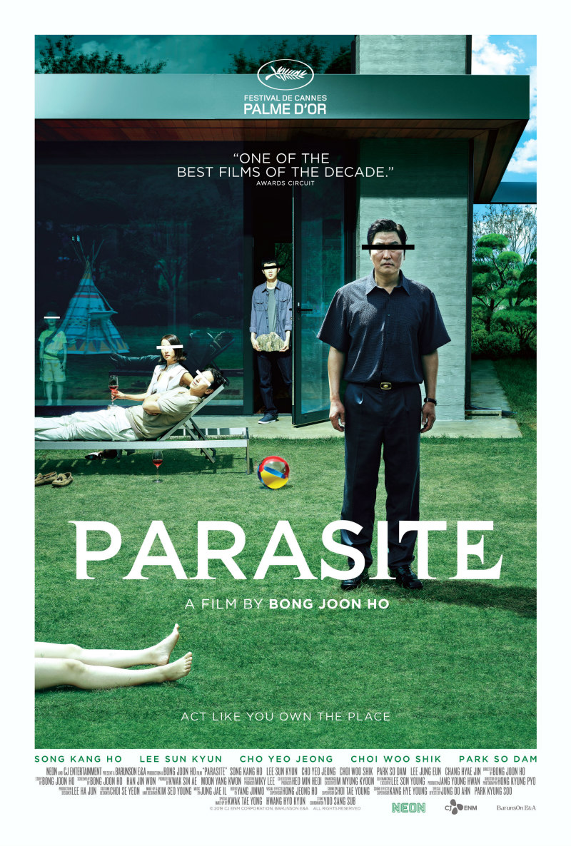 parasite 2019 movie poster