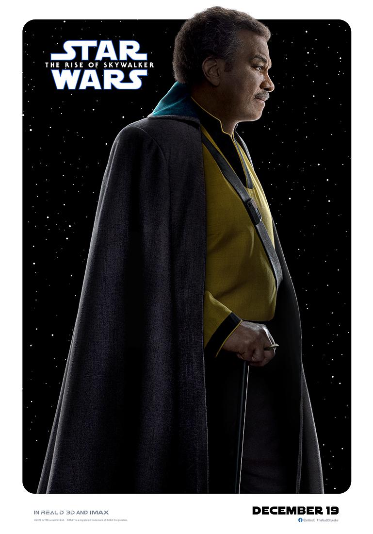 Star Wars: The Rise of Skywalker lando poster