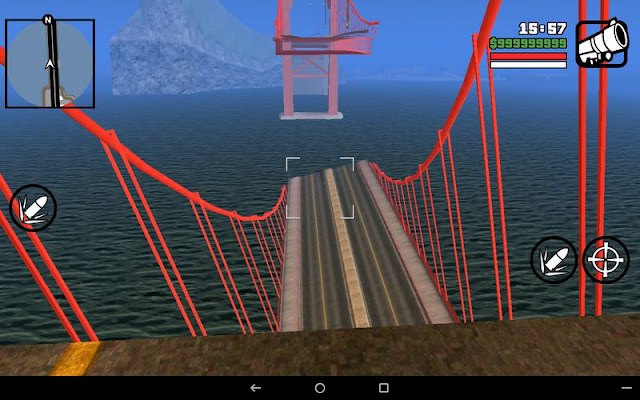 Collapsed Giant Red Bridge GTA SA Android gtaam screens best