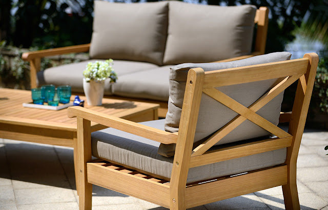 Comfortable and Pleasant Teak Wood Patio Furniture