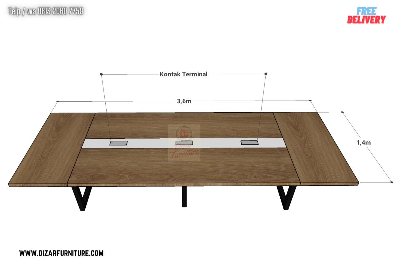ukuran Meja Meeting murah bekasi