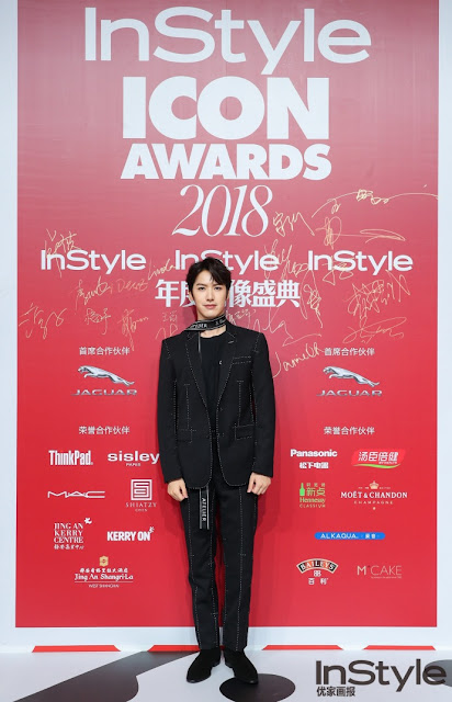 Leon Lai Yi red carpet 2018