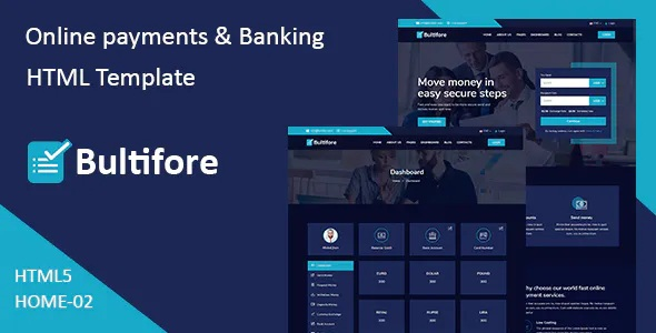 Best Online Payment & Banking Service Template