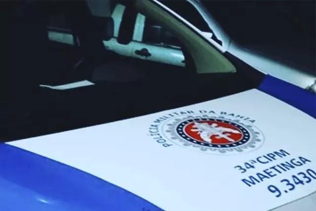 Polícia Militar prende homem acusado de feminicídio em Maetinga