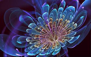 Gambar Bunga 3D DP Wallpaper HD