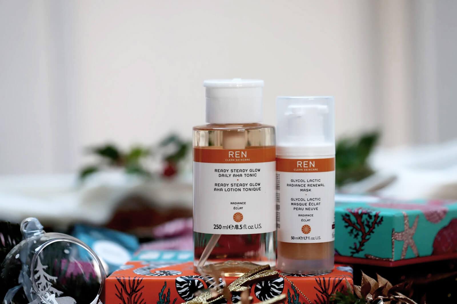 ren lotion exfoliante masque glyco lactique  avis