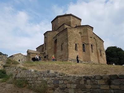 El monasterio de Jvari, cerca de Mtskheta