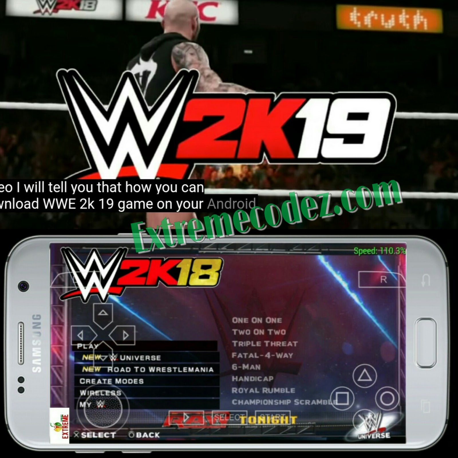 Beaches] Wwe 2k18 game download for android ppsspp iso with