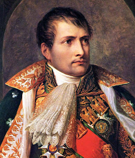 Painting of Napoleon Bonaparte