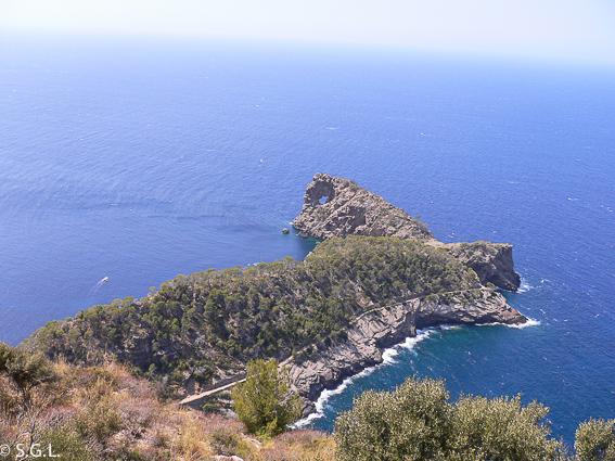 Punta de Sa Forada en Mallorca.