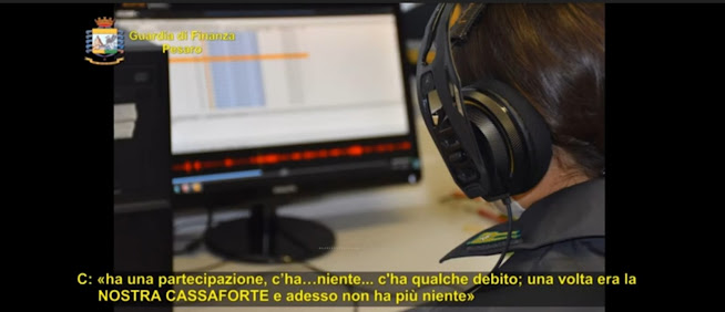 """Pesaro: operazione """"Cassaforte di famiglia""""; contestati reati fiscali, fallimentari e riciclaggio"""