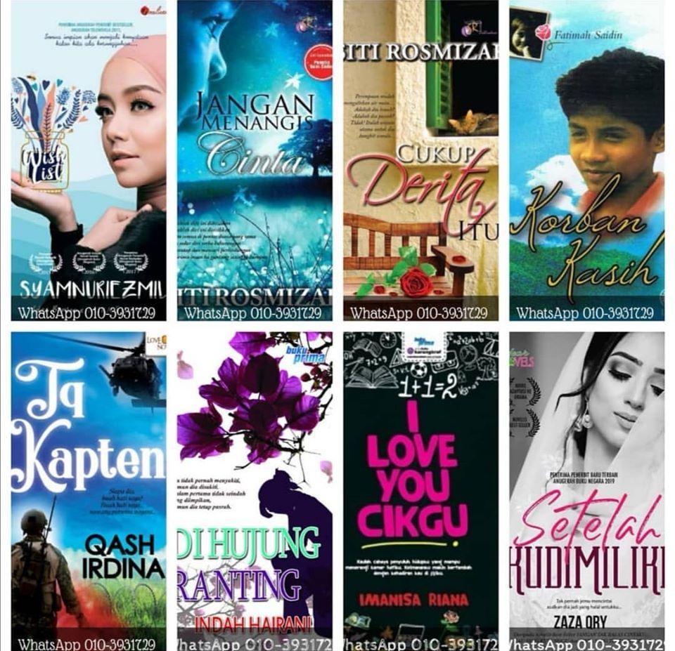 Senarai Drama Adaptasi Novel 2020