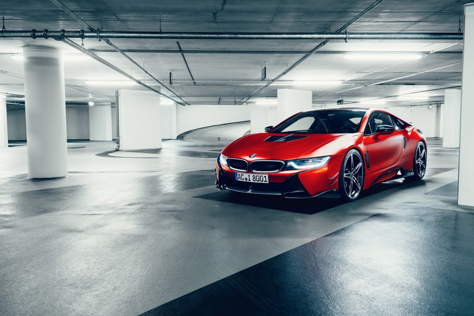 Ac Schnitzer Lowers Bmw I8 And Lathers It With Carbon