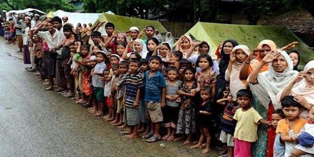 Myanmar Hancurkan Desa Rohingya Demi Bangun Fasilitas Pemerintah