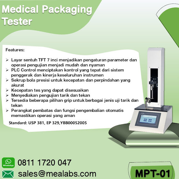 MPT-01 Medical Packaging Tester
