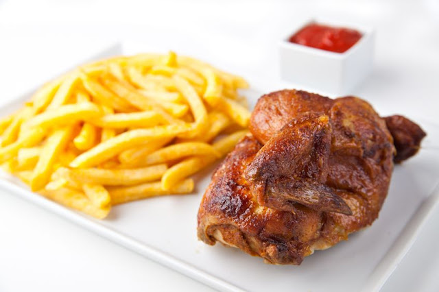 pollo a la brasa peruano