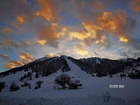 Το χιονοδρομικό κέντρο Μαινάλου στα καλύτερά του!!! (βίντεο drone)