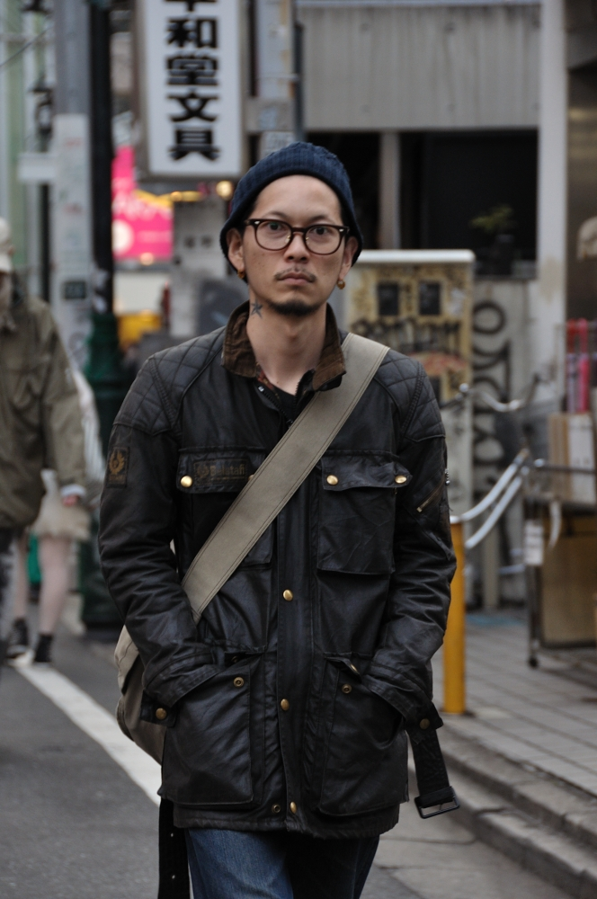 Mityp On The Street Harajuku Belstaff Trialmaster