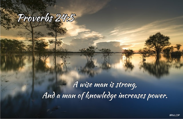 A wise man is strong Proverbs