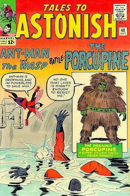 Tales to Astonish, Ant-Man and the Wasp vs the Porcupine