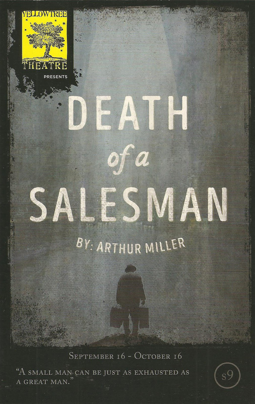"an analysis of the theatrical classic death of a salesman A detailed analysis of death of a salesman but arthur miller's classic work ""death of a salesman"" begs the question: dramatic technique in death of a."