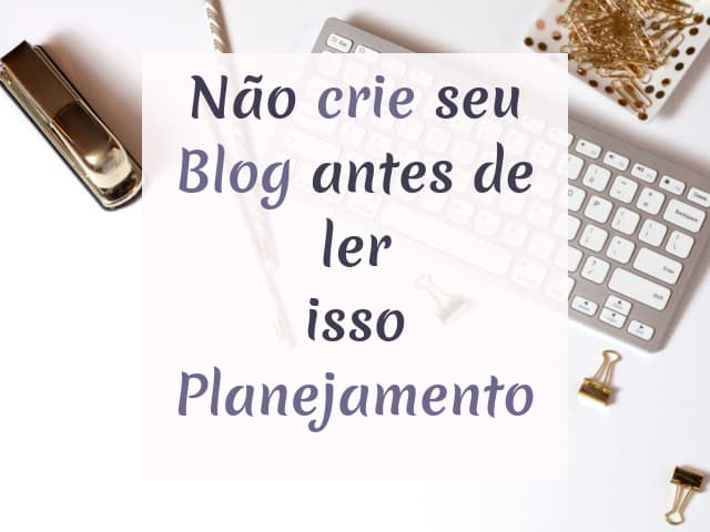 planejando seu blog
