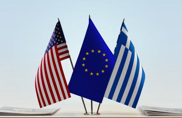 Η ελληνική εξωτερική πολιτική με τις ΗΠΑ και με την Ε.Ε.