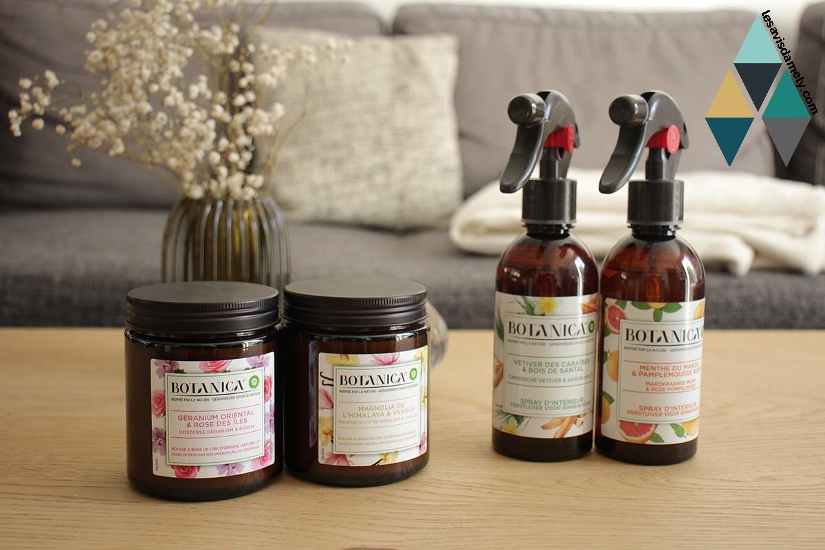 revue bien être parfums intérieur naturel botanica airwick