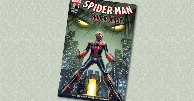 Spider-Man Spiderverse 1 Panini Cover