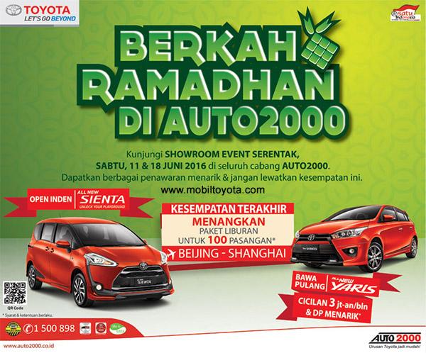 Berkah Ramadhan Toyota Auto 2000