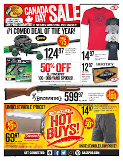 Bass Pro Shops Flyer Canada valid July 8 - 14, 2019