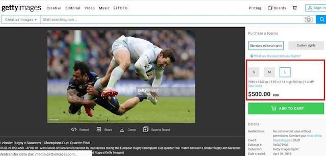 Berapa Harga Sebuah Foto di Getty Images ? Wakkss....