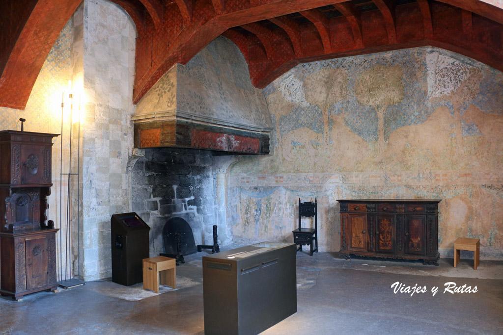 Dependencias del Castillo de Chiilon