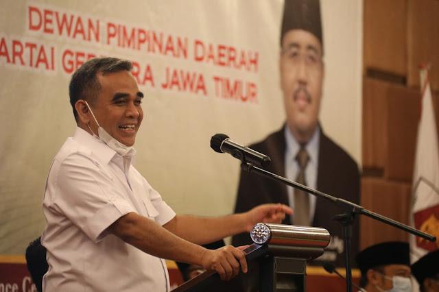 Muzani Sebut Jawa Timur Bisa Menjadi Basis Kekuatan Baru Gerindra