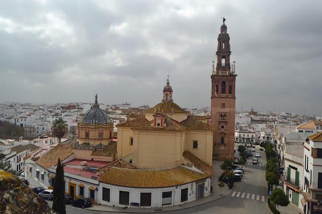 Vista desde arriba de la Iglesia de San Pedro