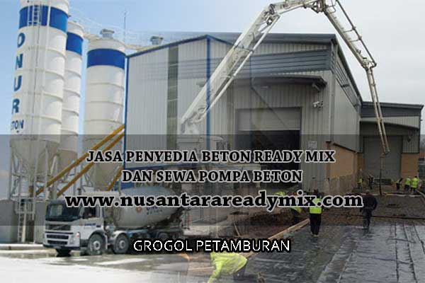 harga beton jayamix Grogol Petamburan