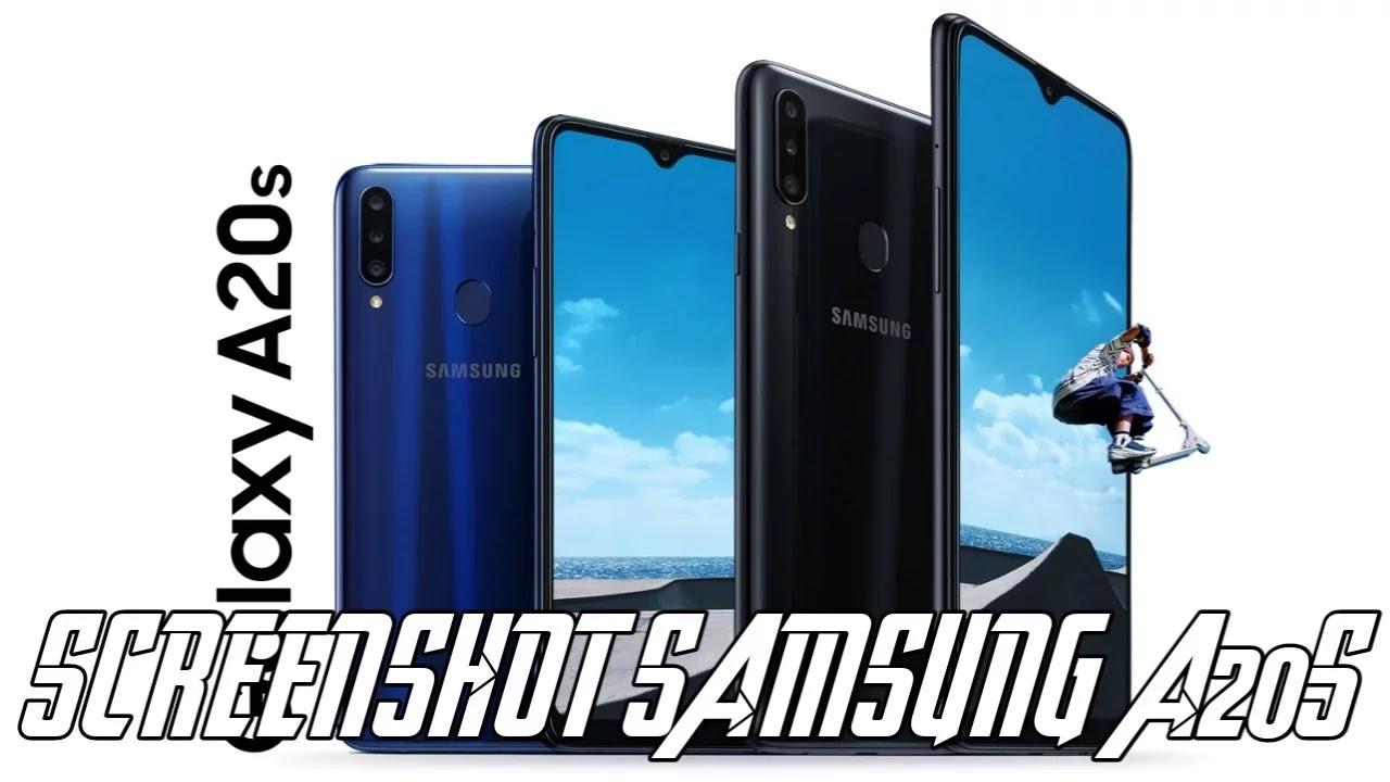 Cara Screenshot Samsung a20s