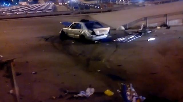 ΣΟΒΑΡΟ τροχαίο το βράδυ στο Κερατσίνι απέναντι από τον Σκλαβενίτη!- Σοβαρη η κατάσταση υγειας του οδηγού… (βίντε