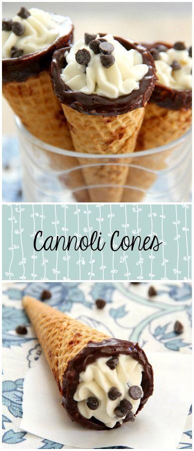 CANNOLI CONES