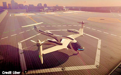 NASA, Uber and Flying Cars, Taxis