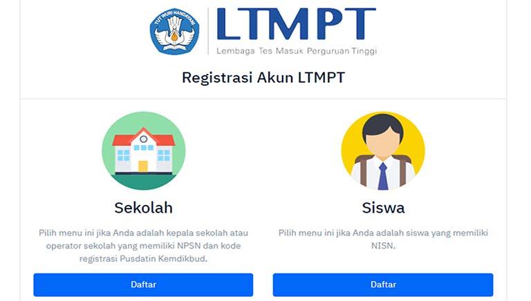 Panduan, Alur Registrasi Dan Cara Verifikasi Akun Siswa Di LTMPT