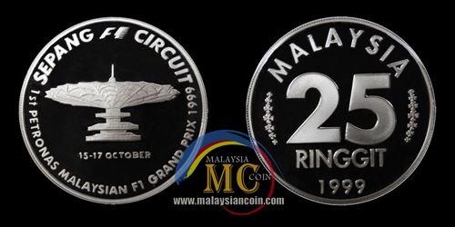 25 ringgit Formula 1